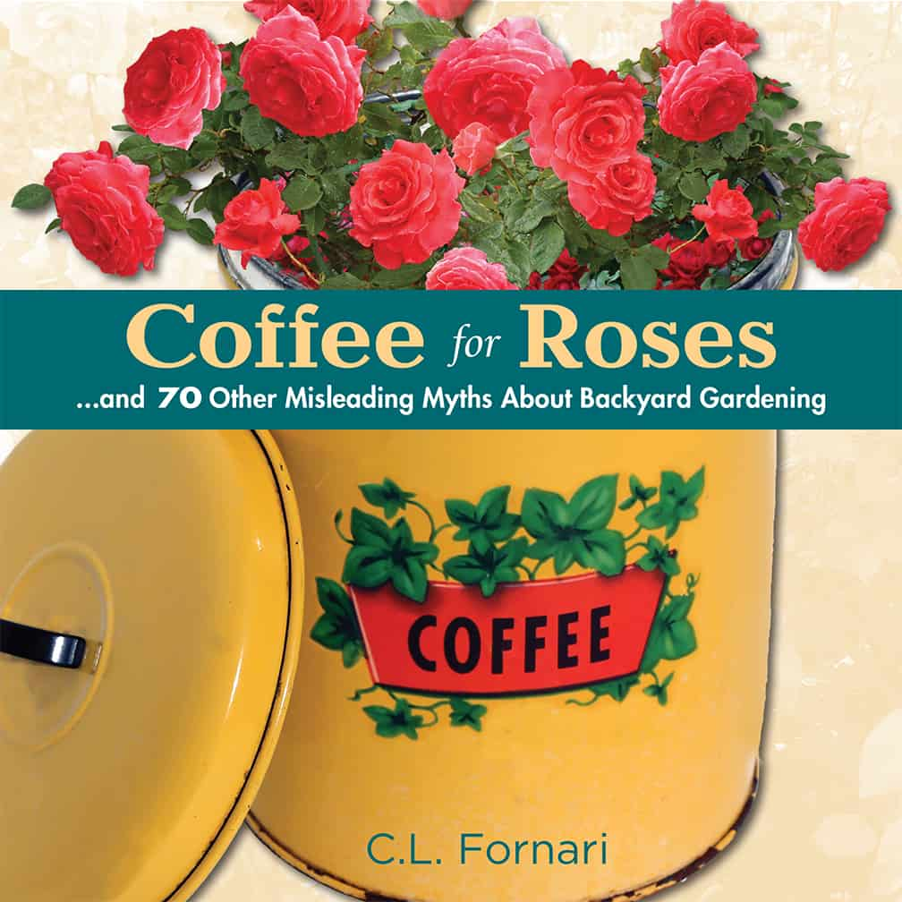 """Any gardener, home landscaper or plant person will enjoy this book, even if he or she is a tea drinker. (Sneak preview: roses love organic matter, and coffee grounds are great for adding organic amendments to your gardens. But coffee grounds don't have any particular """"rose woo-woo."""")"""