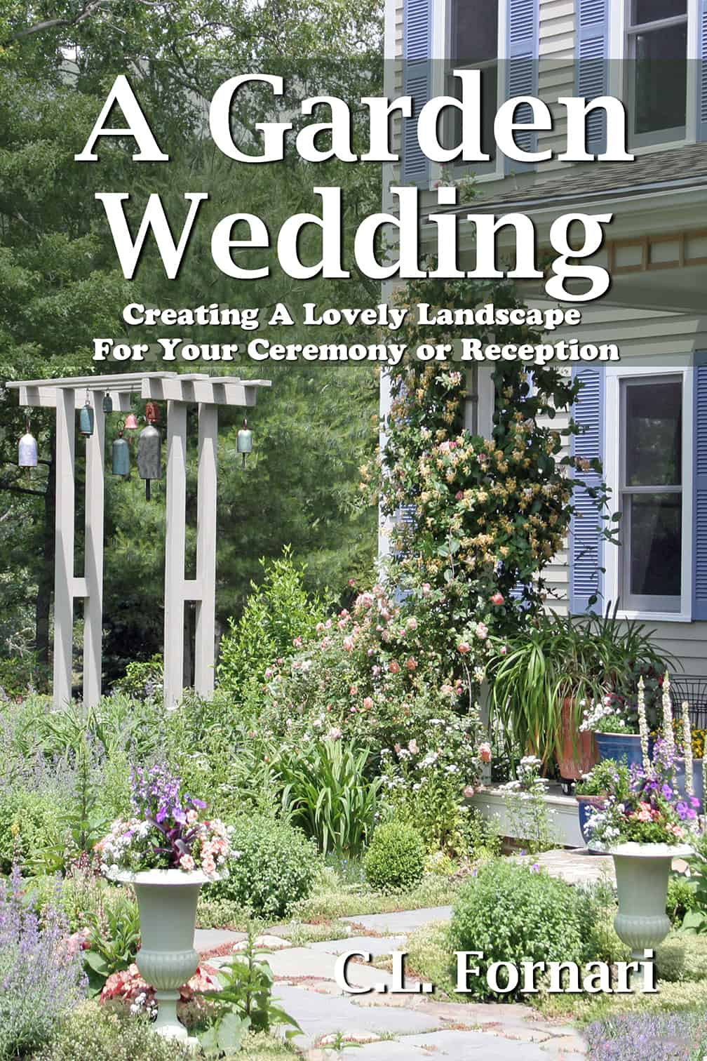 A Garden Wedding Hardcover Book