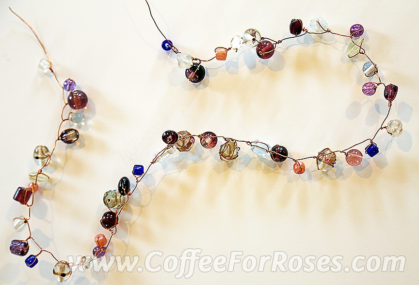 Coffee For Roses » Glass Bead Embellished Baskets