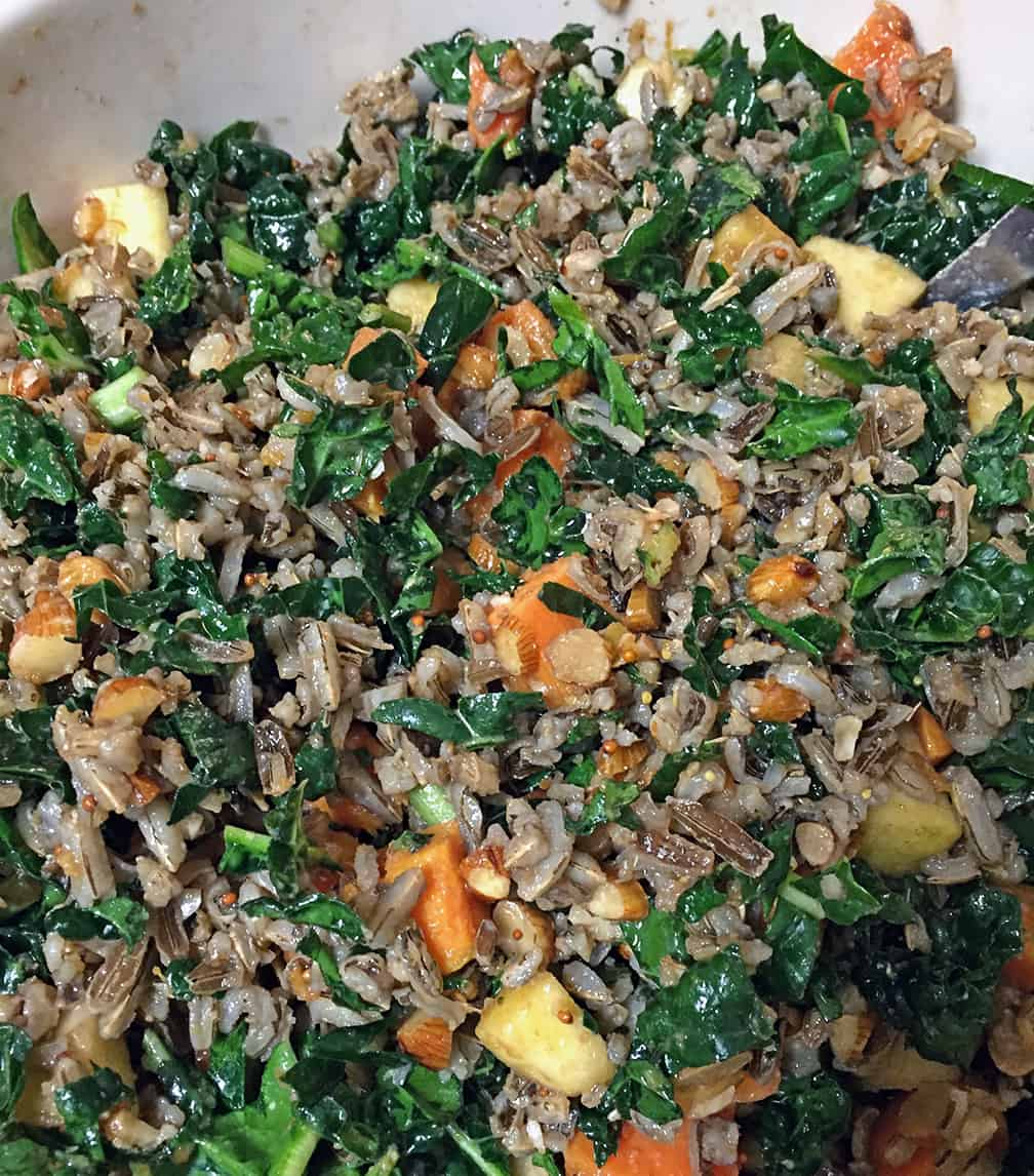 Kale and Wild Rice Salad