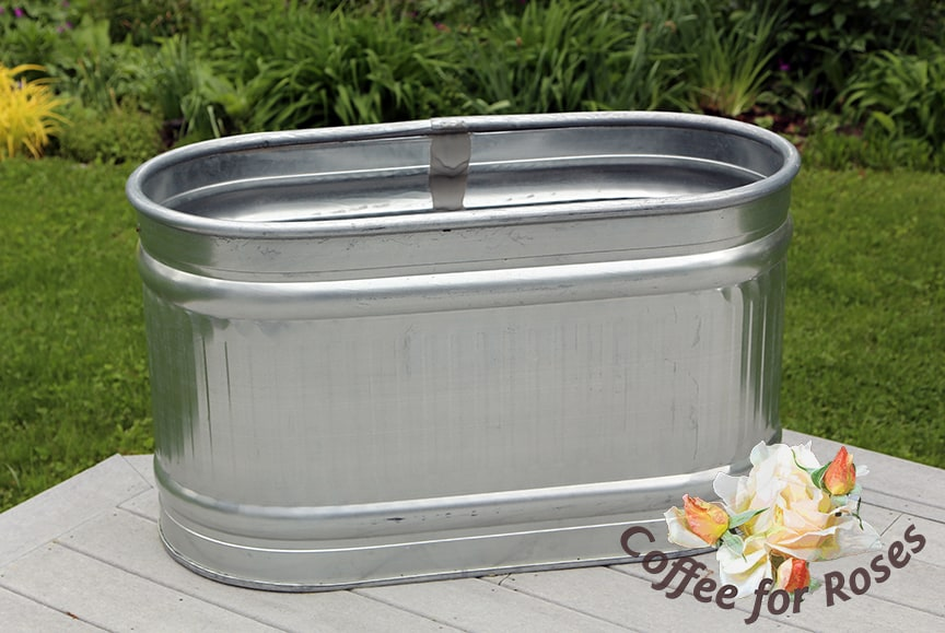 Galvanized Metal Watering Can Floral Containers Floral Supplies Craft Supplies