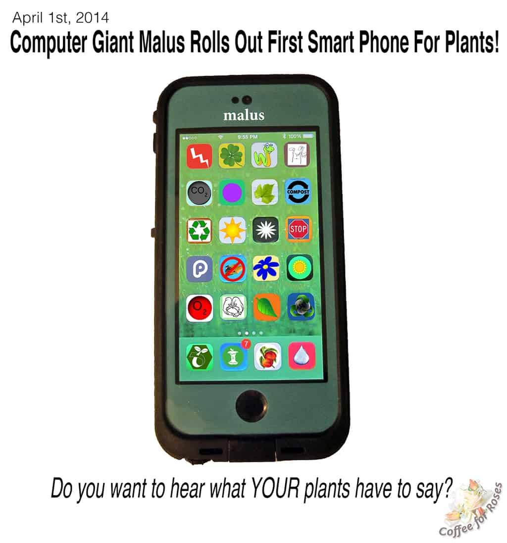 First Smart Phone for Plants!
