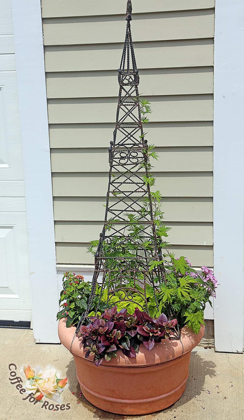 Creating a Tall, Thin Planter