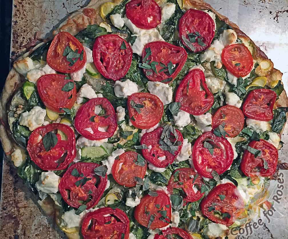 Quick Garden Pizza
