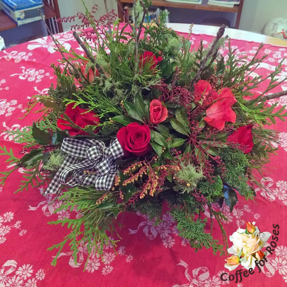 Backyard Greens and Supermarket Flowers